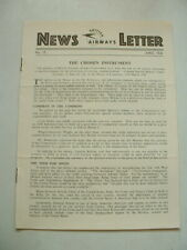 More details for ww2 british airways (imperial aw/boac) news letter 1941 april issue no15