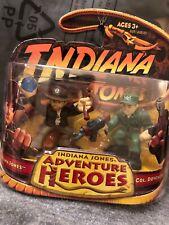 NIB Indiana Jones Adventure Heroes Action Figure Lot Col. Dovchenko ~2003 Hasbro