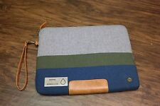 "PKG Slouch Laptop Sleeve Blue/Green/Gray Macbook 13"" inch"