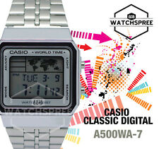 Casio Classic Series Digital Watch A500WA-7D