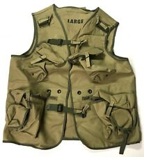 WWII US RANGER D-DAY COMBAT ASSAULT VEST-MEDIUM (38-44R)