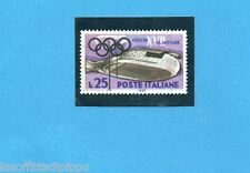 OLYMPIA 1896-1972-PANINI-Figurina n.45-B- Riproduzione francobollo -Rec