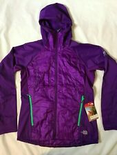 NEW The North Face Womens SM/MED Vaporous Workout Jacket - Iris Purple - NWT