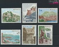 Monaco 1148-1153 (kompl.Ausg.) postfrisch 1974 Bauwerke (9213072