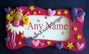 NEW Bulk Pack of 24 DIY fairy name plaques. For girls party favours / gifts etc