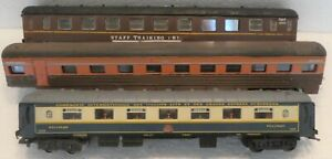 2 LIMA 1 JOUEF PASSENGER  CARS, NO BOX  IN NEED OF SOME TLC OR PARTS