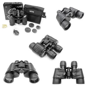 Great Quality For Price UK Freepost General Use 8x40 Binoculars +Case/Caps/Strap