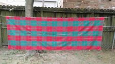 """Red Green Christmas Plaid Rectangle 80""""X56"""" Tablecloth Free Shipping"""