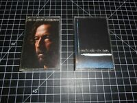 2 Classic Blues Rock Music Vintage Audio Cassette Tapes By Eric Clapton