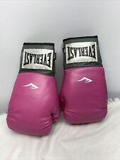 Everlast Womens Advanced Pro Style Training Gloves Pink 12 oz Boxing
