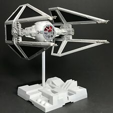 PRO BUILT Empire Imperial Tie Interceptor w/FULL LIGHTING Prop Replica Star Wars