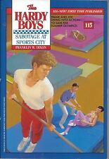 Hardy Boys.Sabotage at Sports City.#115. Mint-Unread Condition.1St.Ed  Paperback