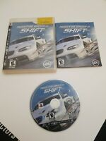 Need for Speed: Shift (Sony PlayStation 3, 2009) Complete PS3 Game CIB