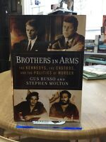 brothers in arms the kennedys,the castros by gus russo first edition