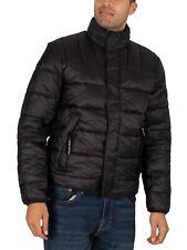 Pepe Jeans Men's Coleridge Puffer Jacket, Black