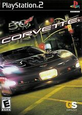 Sony PS2 Corvette Video Game DISC ONLY Chevy Enthusiast V8 Rally Bow Tie Action