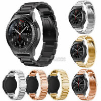 Stainless Steel For Samsung Gear S3 Frontier S3 Classic Strap Metal Watch Band