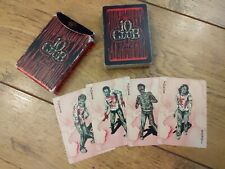 More details for seattle washington grunge pearl jam 10 club playing cards zombie undead
