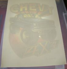 Vintage Chevy 4x4 T-Shirt Iron On Transfer