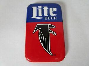 Atlanta Falcons Lite Beer Pin Fastener Badge Vintage Miller Brewing