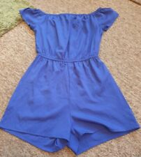 New Look 915 blue short playsuit age 14 years