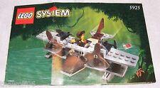 1999 LEGO Pontoon Plane 5925 INSTRUCTION MANUAL