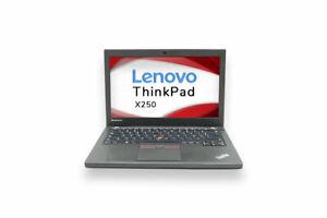 Lenovo ThinkPad X250 Intel Core i5 5200U/5300U - HDD SSD  8Go RAM Deutsch QWERTZ