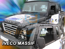 Wind Deflectors IVECO MASSIF II 2-doors 2007-2011 2-pc HEKO Tinted