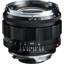 Brand New Voigtlander Nokton 50mm F1.2 Aspherical VM Leica M M9 M10 Voigtlaender