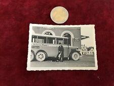 photographie ancienne bus ou car N 43