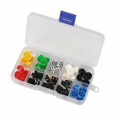 Tactile Push Button Switch Momentary Tact & Cap 12x12x7.3mm Kit Arduino N4O7