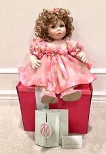 Marie Osmond 2007 Spring Fever Dolls for all Seasons Porcelain Doll LE 1003/2500