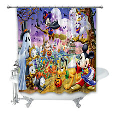 Disney-Halloween-Mickey-Mouse-And-Friends High Quality Shower Curtain 60x72 Inch