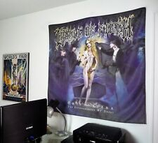 CRADLE OF FILTH Cryptoriana HUGE 4x4 BANNER fabric poster tapestry album cd flag