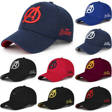 Men Marvel Avengers Baseball Cap Protection Adjustable Mesh  Sun Hats Outdoor