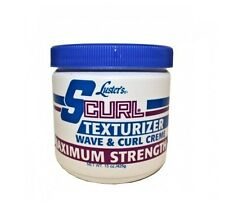 Luster's Scurl Texturizer Wave & Curl Creme - Maximum Strength 15oz (425g)