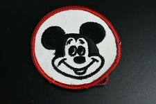 Vintage 1950's Mickey Mouse Round Character Patch