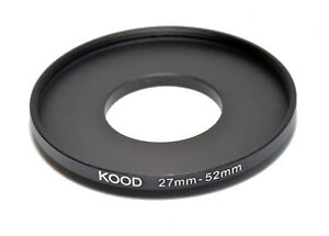 Kood Stepping Ring 27mm - 52mm Step up ring 27-52mm