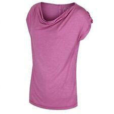 T-shirt, maglie e camicie da donna rossi viscosa a girocollo