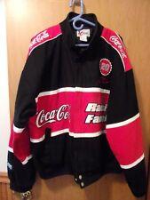 RARE Tony stewart #20 Coca Cola Cotton Jacket  XL  BLACK & RED