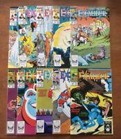 Excalibur #5,7,8,11-13,15,17,20,37 (1st Series Marvel Comics) X-Men Lot of 10