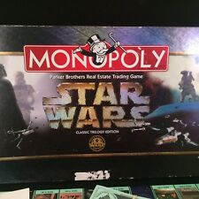 STAR WARS MONOPOLY CLASSIC TRILOGY EDITION 1997 BOARD GAME PEWTER TOKENS VADER