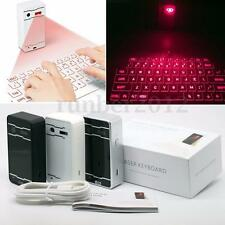Portable Wireless Full-Size Virtual Laser Keyboard Mouse Bluetooth 3 Colors