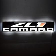 New Camaro Zl1 Led back lit sign Opti neon wall lamp light Huge Muscle Car Coupe
