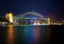 "100"" x 145"" Sydney Harbour Wall Murals Wallpaper Stickers Decorations WM1176"
