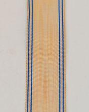 Ruban de l'Ordre du Mérite Saharien, 14 cm, tissage ancien