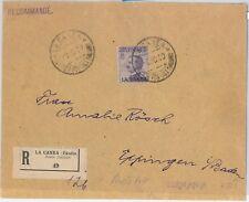 64218 - LEVANTE:  LA CANEA - STORIA POSTALE: Sass 19 ISOLATO su BUSTA  1910