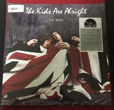 RSD 2018 THE WHO THE KIDS ARE ALRIGHT 2LP RED & BLUE COLOURED HEAVYWEIGHT VINYL
