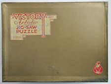 Vintage VICTORY Artistic 2000 pc Wood Jig-saw Puzzle - with 110 Figures