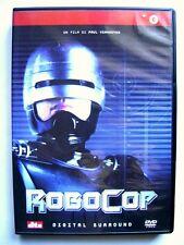 Dvd RoboCop di Paul Verhoeven con Peter Weller 1987 Usato raro fuori cat.